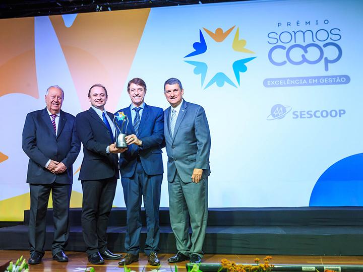 Premiação foi entregue na noite de terça-feira, 8 de outubro, em Brasília